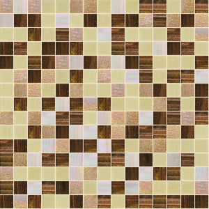 Evolution Mix, 3/4 x 3/4 Mosaic Tile | TREND Glass Mosaic Tile