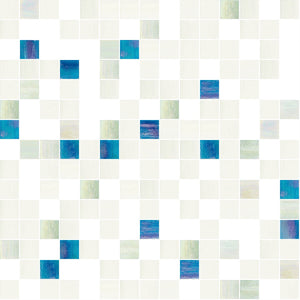 Fancy Mix, 3/4 x 3/4 Mosaic Tile | TREND Glass Mosaic Tile