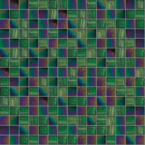 Fauny Mix, 3/4 x 3/4 Mosaic Tile | TREND Glass Mosaic Tile