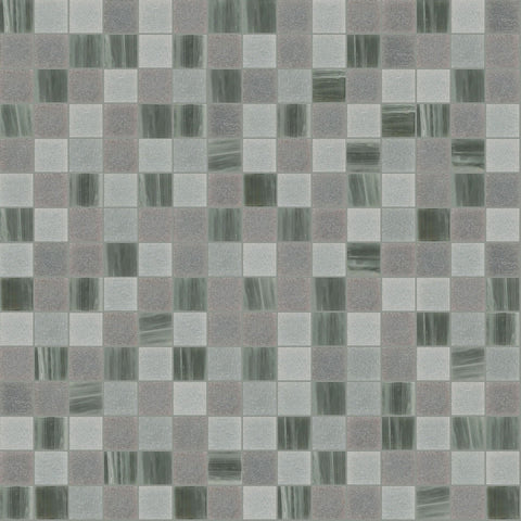 "Hazy, 3/4"" x 3/4"" - Glass Tile"