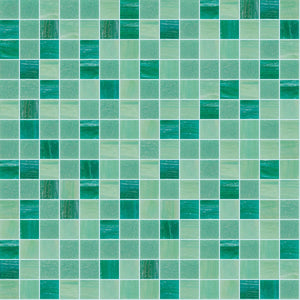 Friendship Mix, 3/4 x 3/4 Mosaic Tile | TREND Glass Mosaic Tile