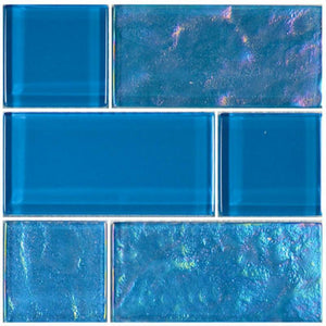 Azure, Mixed - Glass Tile
