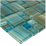 GW8M2348T5 Aqua, Mixed Artistry in Mosaics