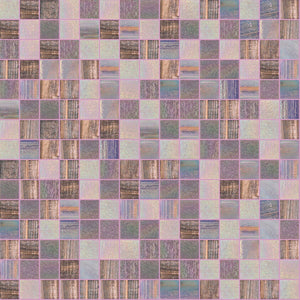Happyness Mix, 3/4 x 3/4 Mosaic Tile | TREND Glass Mosaic Tile