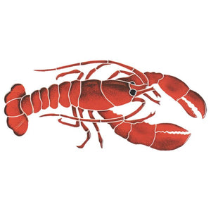 LOBREDM Lobster Artistry in Mosaics