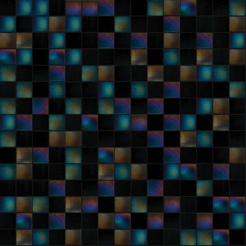 Midnight Mix, 3/4 x 3/4 Mosaic Tile | TREND Glass Mosaic Tile