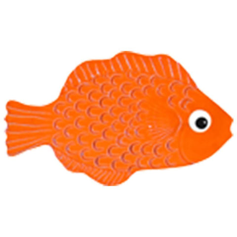 "TFIORARB Mini Tropical Fish Orange 4"" Artistry in Mosaics"