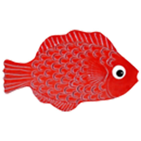 "TFIREDRB Mini Tropical Fish Red 4"" Artistry in Mosaics"