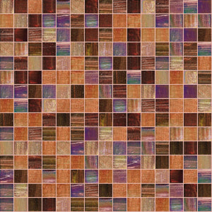 "Autumn, 3/4"" x 3/4"" - Glass Tile"