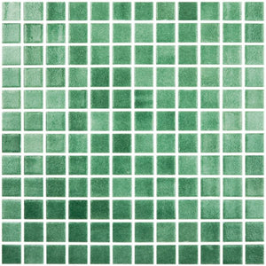 "Fog Green, 1"" x 1"" - Glass Tile"