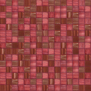 Rubicund Mix, 3/4 x 3/4 Mosaic Tile | TREND Glass Mosaic Tile