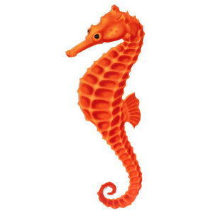 PORC-SH17OR-4 Orange Seahorse Custom Mosaics