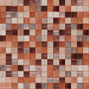 Sensitivity Mix, 3/4 x 3/4 Mosaic Tile | TREND Glass Mosaic Tile