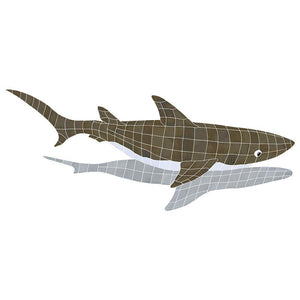 SSHGRARL Shark w/Shadow Artistry in Mosaics