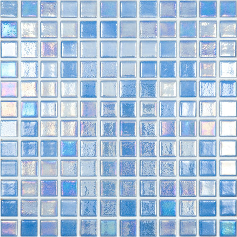 "093552M Shell Azure 552, 1"" x 1"" - Glass Tile"