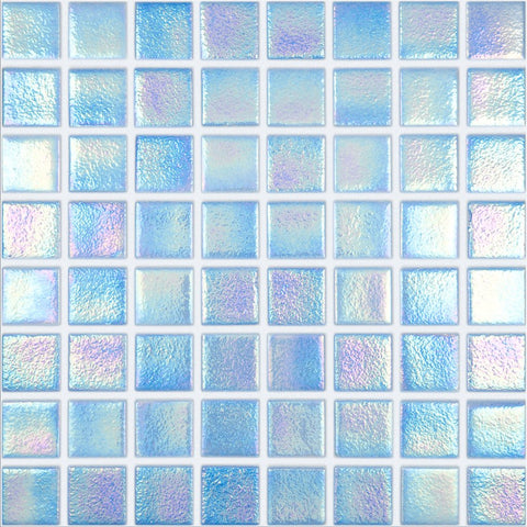 "098552M Shell Azure 552, 1.5"" x 1.5"" - Glass Tile"