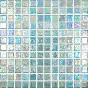 "093553M Shell Crystal 553, 1"" x 1"" - Glass Tile"