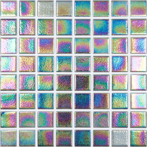 "098556M Shell Deep 556, 1.5"" x 1.5"" - Glass Tile"