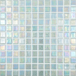 "093554M Shell Mystic 554, 1"" x 1"" - Glass Tile"