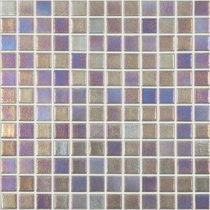"093558M Shell Platinum 558, 1"" x 1"" - Glass Tile"