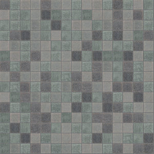 "Ash, 3/4"" x 3/4"" - Glass Tile"