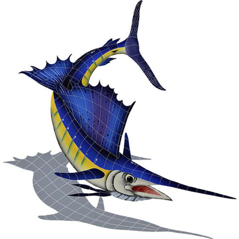 SSHBLURS Sailfish, Right w/Shadow Artistry in Mosaics