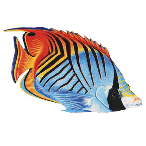 PORC-TF25-5 Threadfin Butterflyfish Custom Mosaics