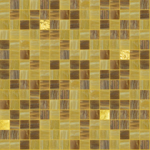Toffee Mix, 3/4 x 3/4 Mosaic Tile | TREND Glass Mosaic Tile