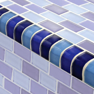 TRIM-GC82348B2 Trim Cobalt Blue Blend Artistry in Mosaics