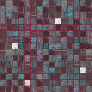 Vivid Mix, 3/4 x 3/4 Mosaic Tile | TREND Glass Mosaic Tile