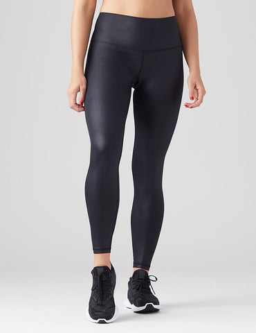 High Power Legging: Black Gloss