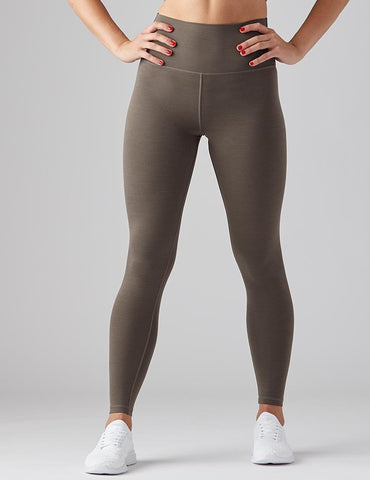 High Waist Pure Legging: Dark Moss