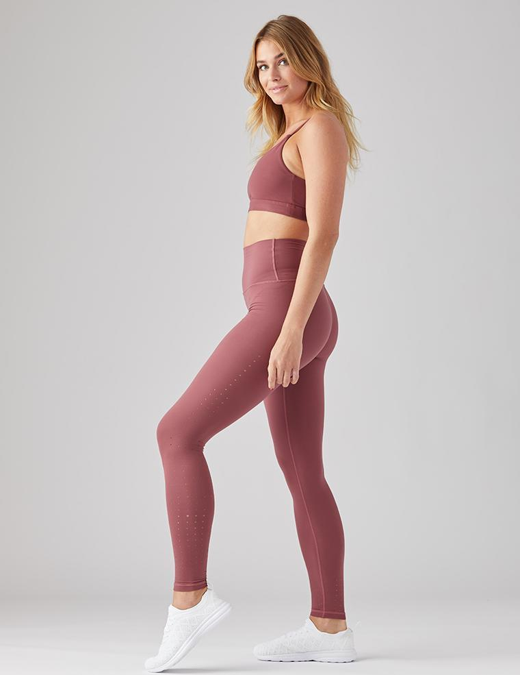 Amp Legging: Oxblood