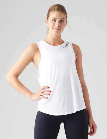 Rise Up Power Tank: White