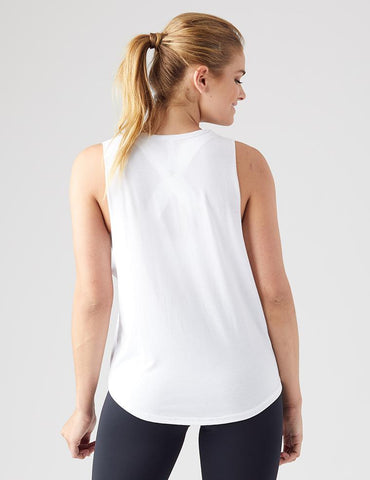 Limitless Power Tank: White