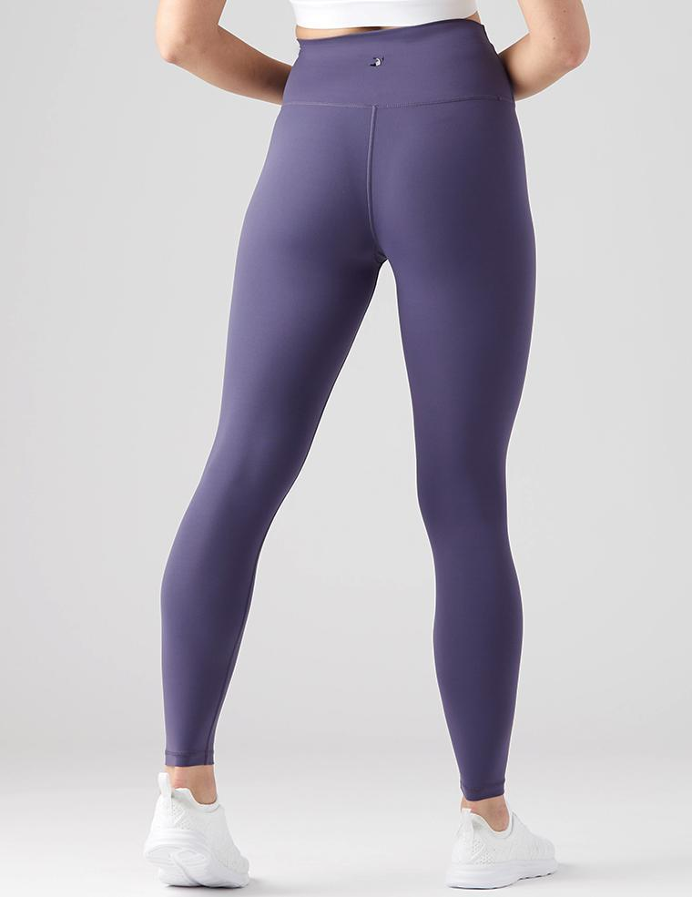 High Waist Pure Legging: Night Blue