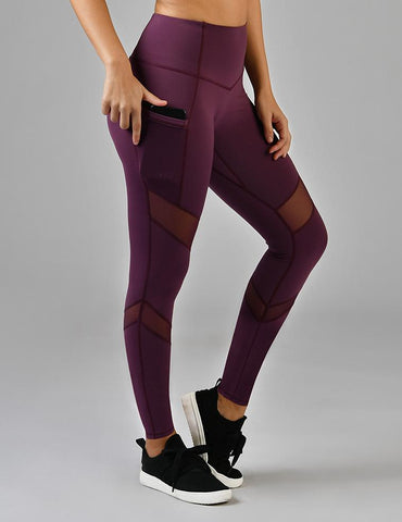 Sculpt Legging: Grape Wine