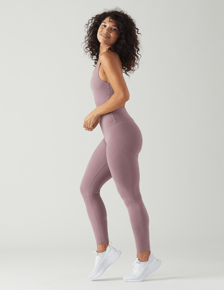 Dash Legging: Mauve