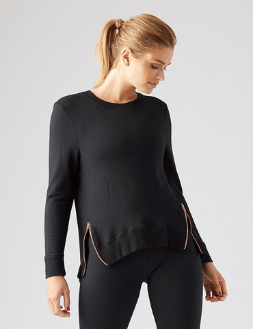 Adore Long Sleeve: Black