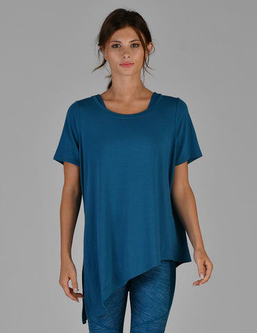 Dawn Tee: Moroccan Blue