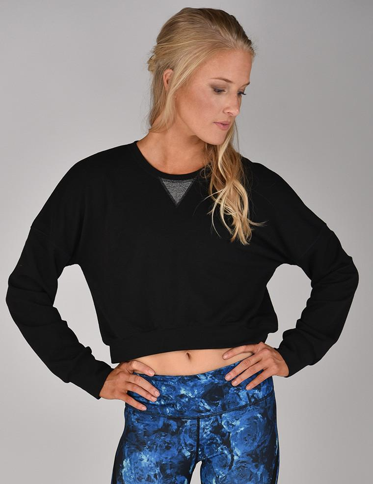 Leisure Sweater: Black