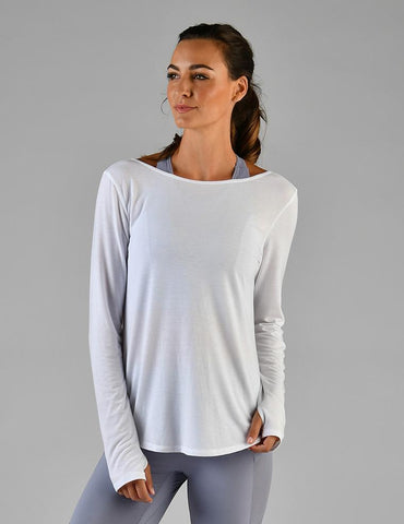 Acute Long Sleeve: White