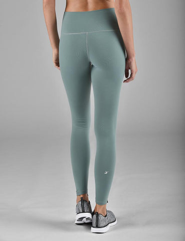High Power Legging: Silver Pine
