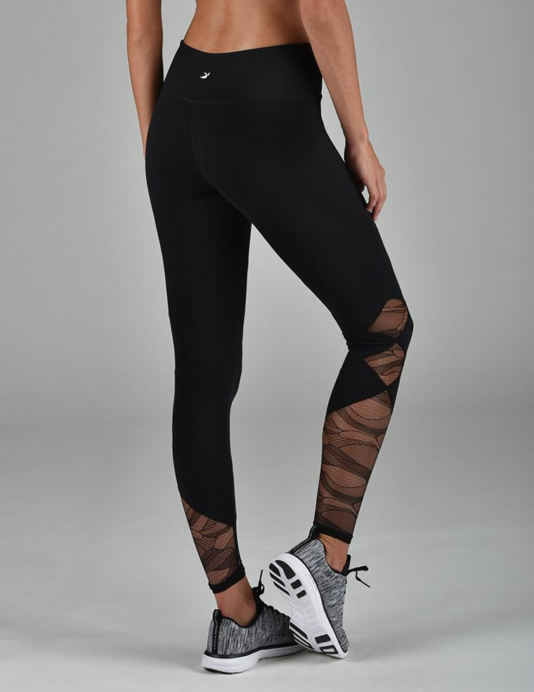 Patch Legging: Black