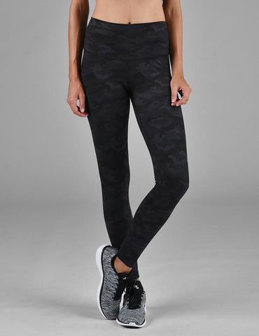 High Power Legging Print: Into the Night Camo