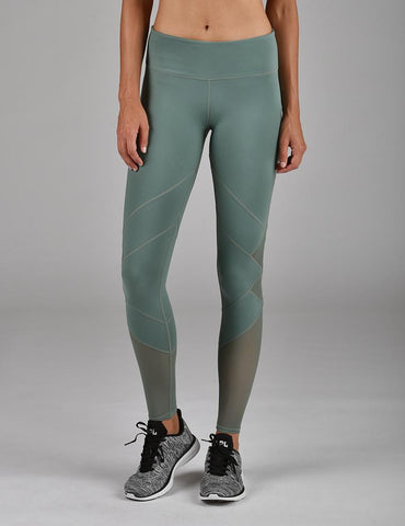 Patch Legging: Silver Pine