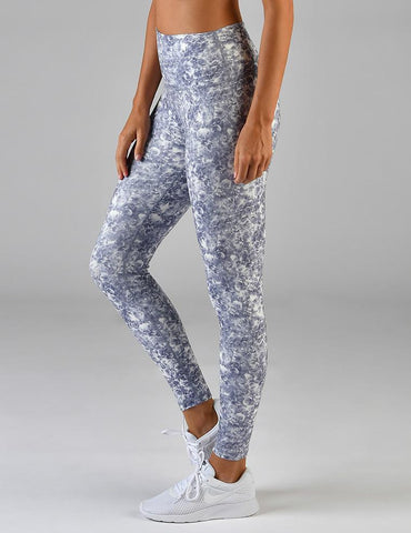High Power Legging Print: Amethyst