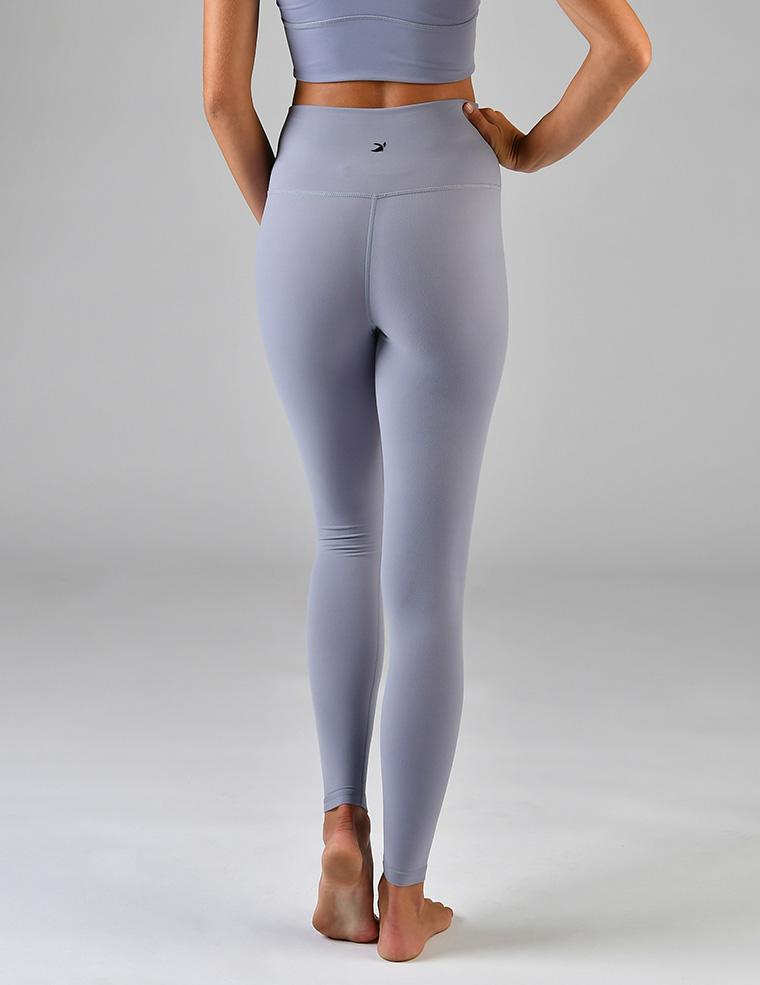 High Waist Pure Legging: Silver Bullet
