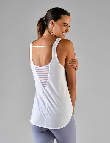 Arrow Tank: White