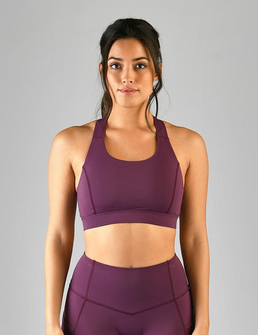 Full Force Bra: Grape Wine